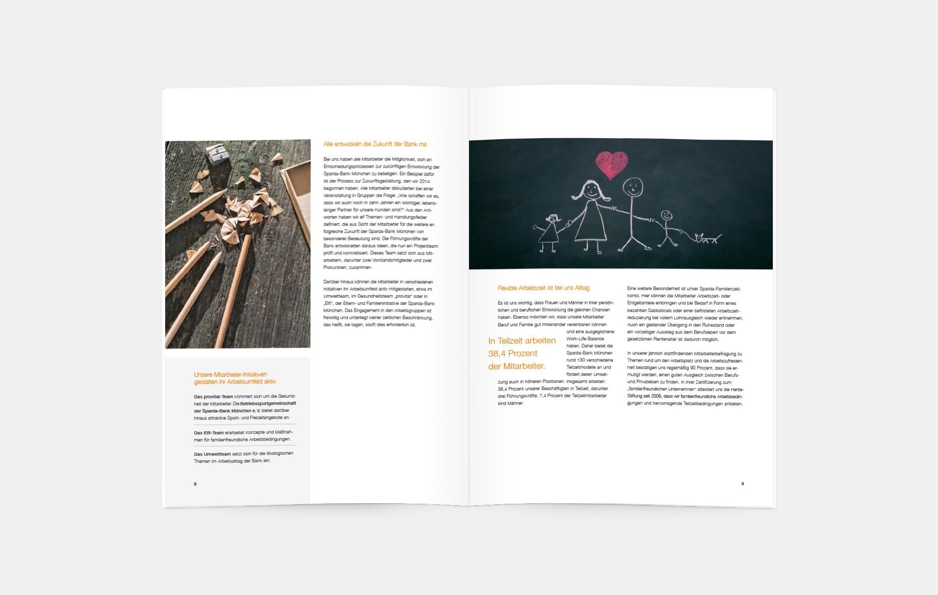 Ausgehend vom 122 Seiten starken Gemeinwohl-Bericht haben wir die wesentlichen Handlungsfelder definiert und in einer 24-seitigen Broschüre kompakt aufbereitet. Verbunden mit dem hohen Bildanteil entsteht eine informative und doch kurzweilige Lektüre, die dazu einlädt, sich mit dem Wirtschaftsmodell der Gemeinwohl-Ökonomie näher auseinanderzusetzen.