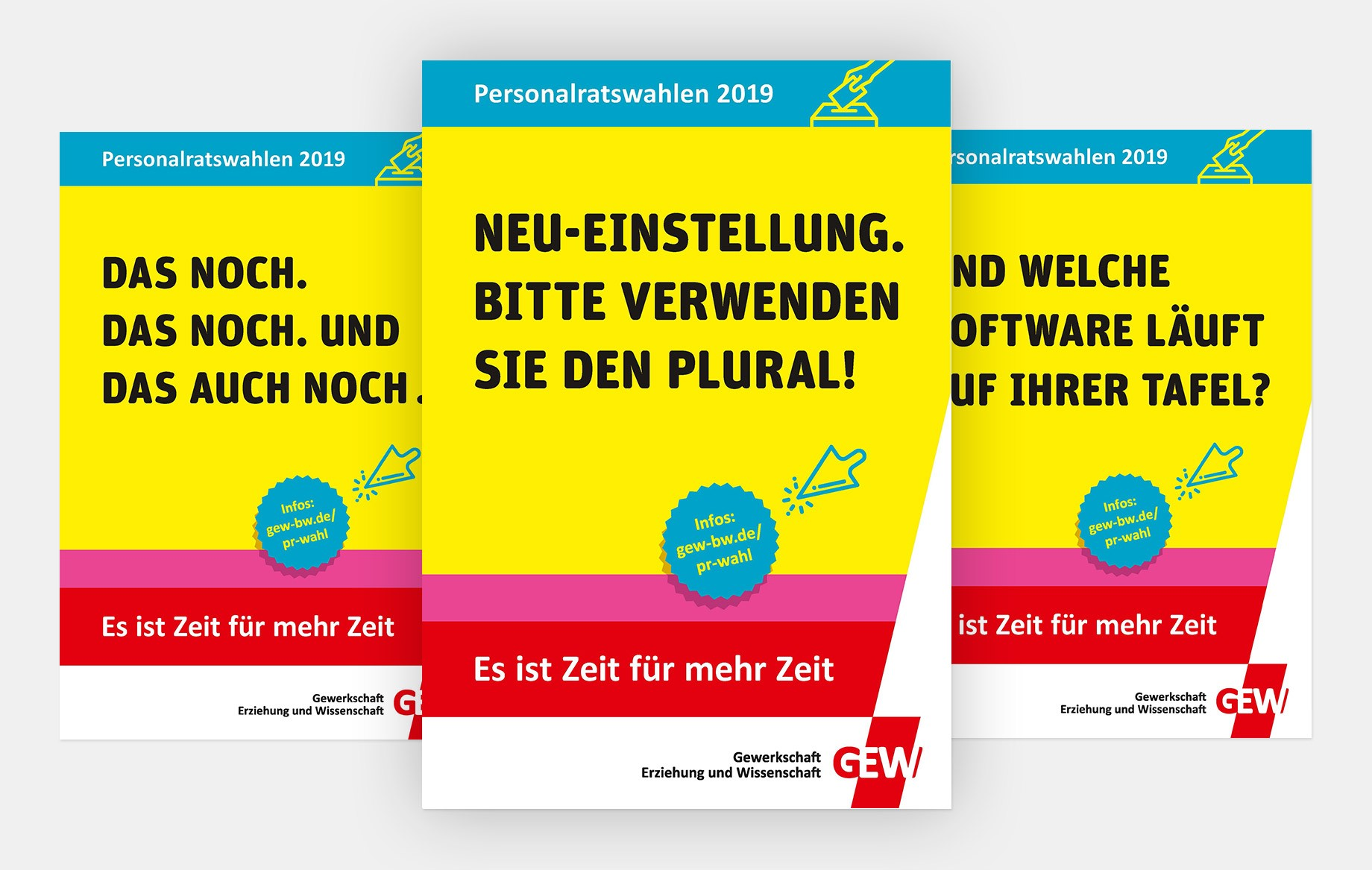 Die Kernthemen übersetzten wir in verschiedene Plakate mit griffigen Kernaussagen.